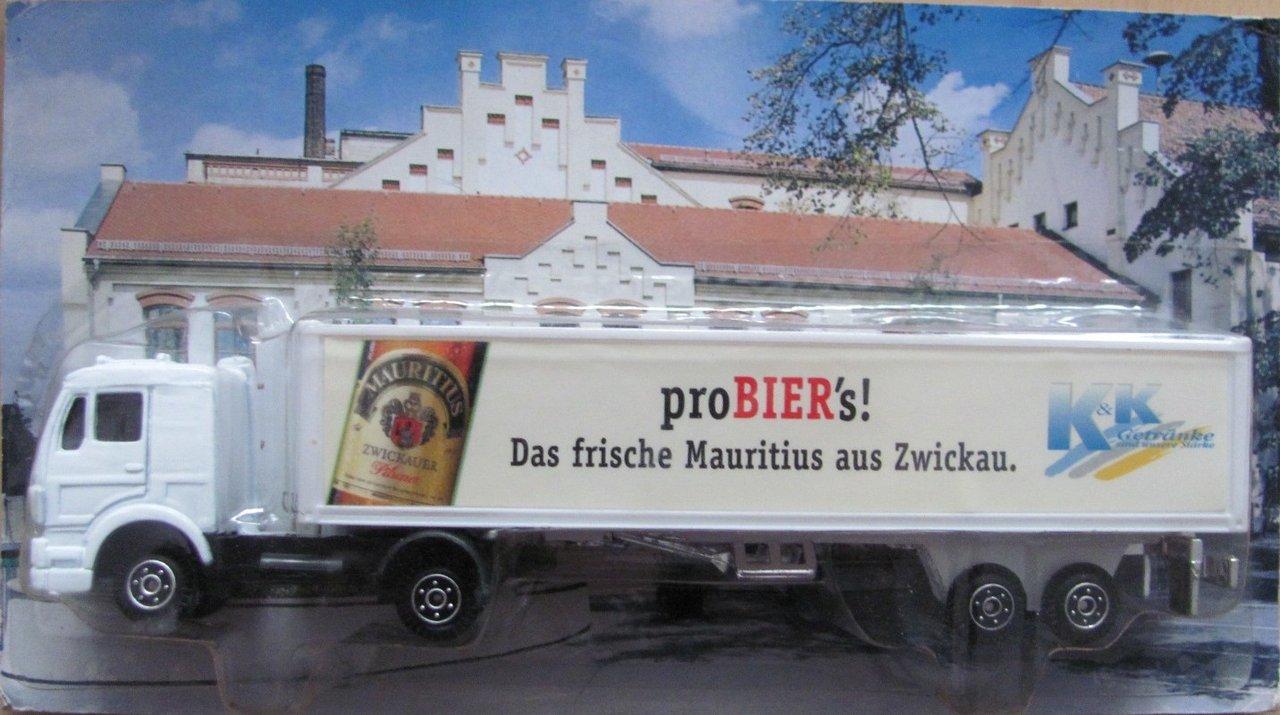 Mauritius Nr.08 - K&K Getränke - MB 1320 - Sattelzug - Paola´s ...