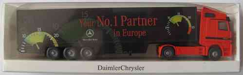 Wiking - Mercedes Benz - Your No.1 Partner in Europe - MB Actros 1843 - Sattelzug