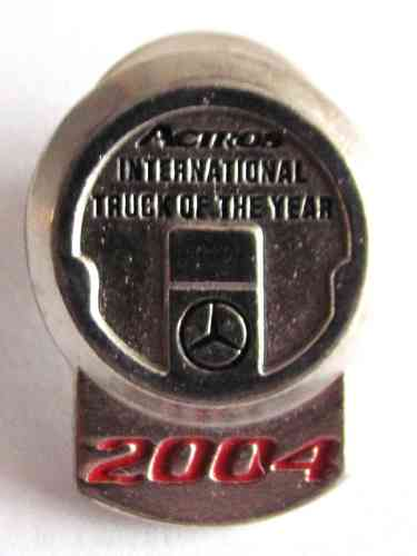 Mercedes Benz - Actros International - Truck of the Year 2004 - Pin 15 x 20 mm