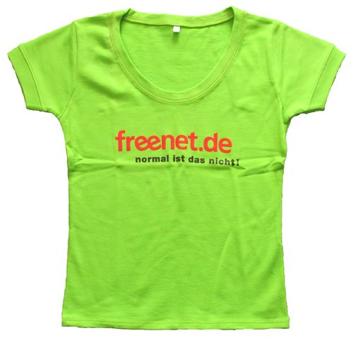 Freenet.de - T-Shirt - Frauen - Gr. S