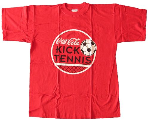 Coca Cola - T-Shirt Gr.L - Kick Tennis 1996