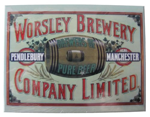 Worsley Brewery - Brewers of pure Beer - Magnet - Kühlschrankmagnet