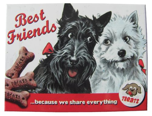 Treats - Best Friends - Magnet - Kühlschrankmagnet