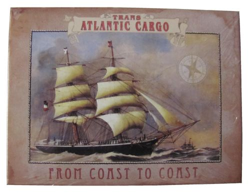 Trans Atlantic Carco - from Coast to Coast - Magnet - Kühlschrankmagnet