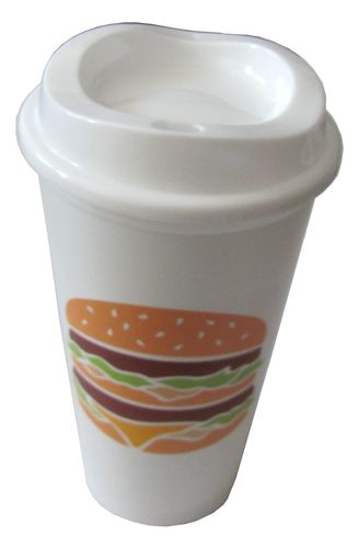 Mc Donald´s - Mehrwegbecher - Motiv Hamburger - 473 ml