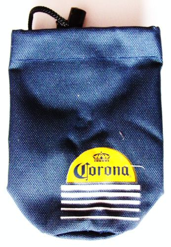 Corona - Bottle-Bag - Flaschentasche - blau