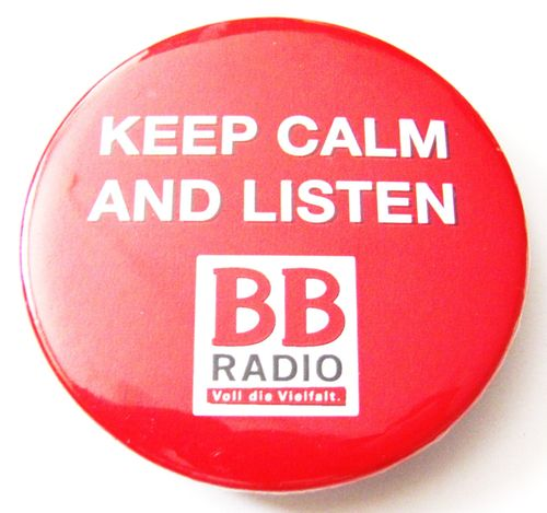 BB Radio - Keep calm and listen - Flaschenöffner